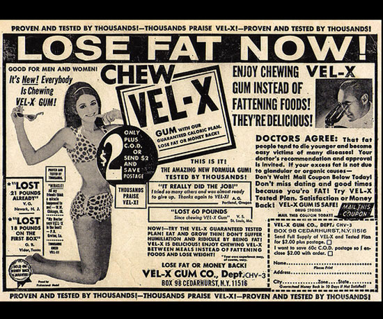 Lose Fat Now! Chew Vel-X