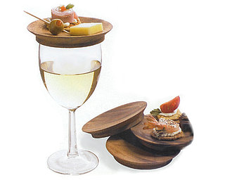 Poll: Wine Glass Top Appetizer Plate