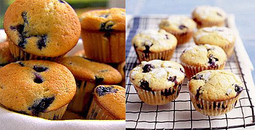 Easy & Expert Recipes For Blueberry Muffins