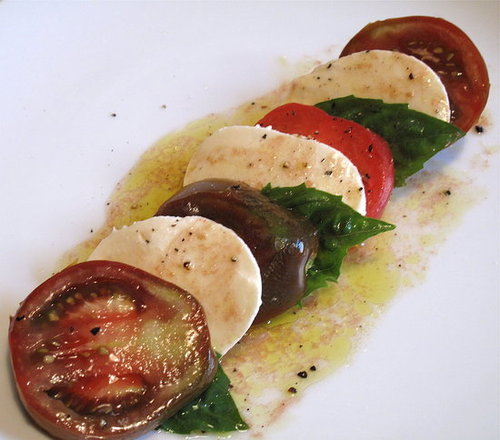 Fast & Easy Recipe For Caprese Salad