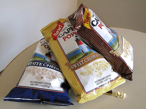 Review of New Cape Cod Popcorn Flavors