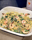 Mario Batali&#039;s Shrimp and Spaghetti Pasta Recipe