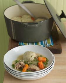 Fast & Easy Recipe For Chicken and Dumplings