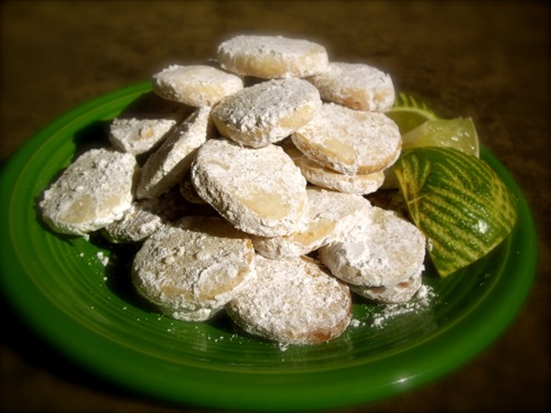Sweet and Tart Shortbread Cookies