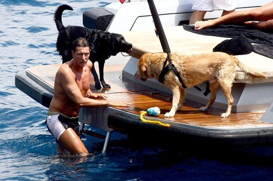 Found! Dolce and Gabbana's Dogs Enjoy Cool Water