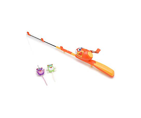 Kitty Hoots Catfisher Fishing Rod and Reel Cat Toy