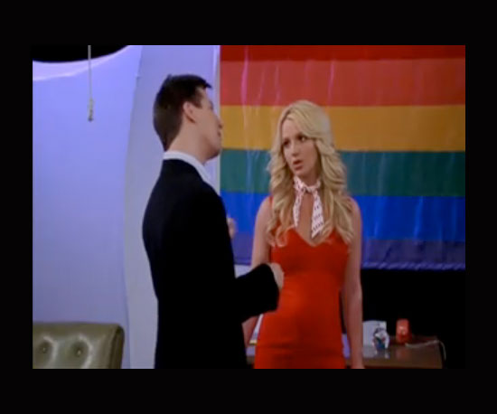 Britney Spears, Will and Grace