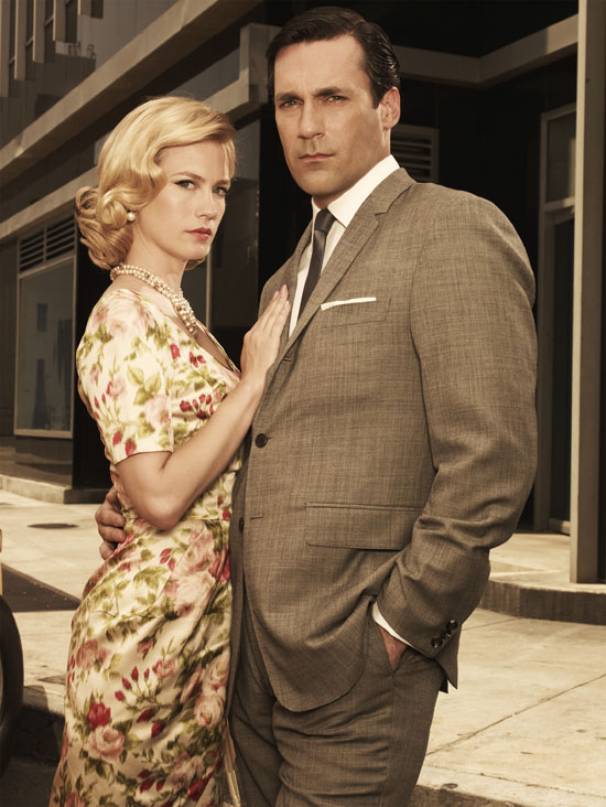 Betty Draper and Don Draper
