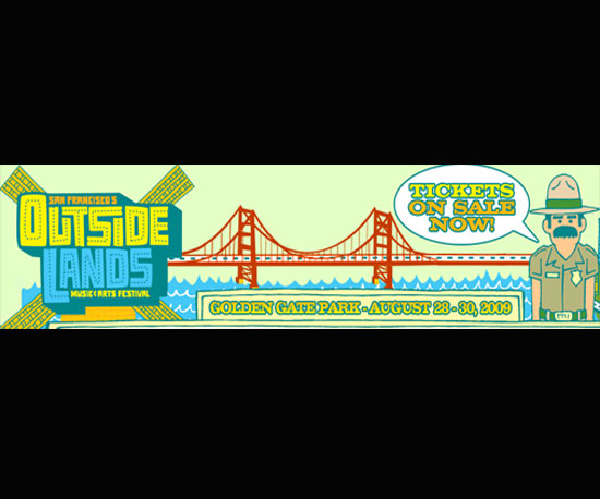 Outside Lands Music Festival in San Francisco