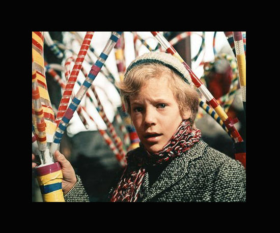 Charlie Bucket (Peter Ostrum) in Willy Wonka & the Chocolate Factory