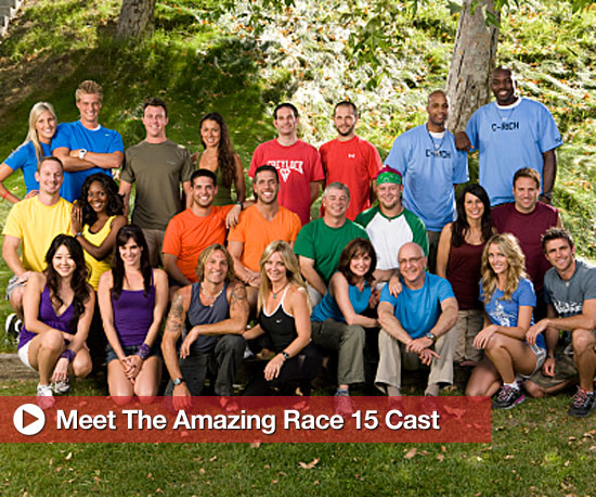 Meet the New Amazing Race Cast