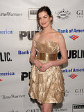 Photos of Anne Hathaway With Her Dog and Kissing Boyfriend