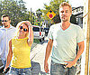 Photo Slide of Britney Spears with Jason Trawick at Starbucks