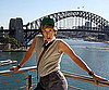 Photo Slide of Sacha Baron Cohen Promoting Bruno in Sydney