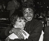 Michael congratulated Liza Minnelli after her sold-out concert series at the Universal Amphitheatre (now called Gibson Amphitheatre) in 1983.