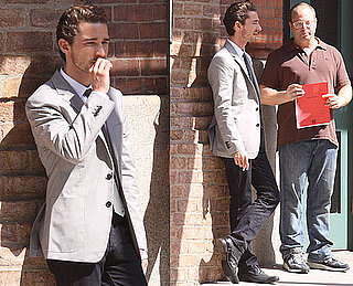 Photos of Shia LaBeouf Smoking in NYC With the Script For Wall Street 2