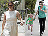 Photos of Jennifer Garner Heading to Toscana Restaurant in LA