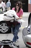 Photos of Jennifer Garner With Stroller
