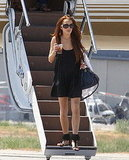 Photos of Lindsay Lohan in Black