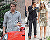 Photos of Ed, Chace and Leighton on the Gossip Girl Set