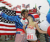 Slide Photo of Heidi Montag and Spencer Pratt on Fourth of July