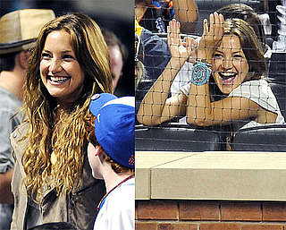 Photos of Kate Hudson Watching Alex Rodriguez Play at Citi Field in New York