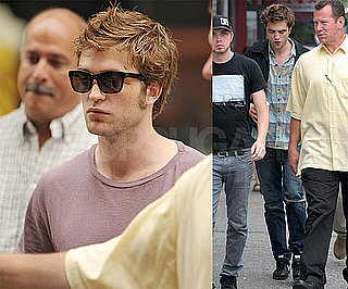 Robert Pattinson Needs Some First Aid and TLC