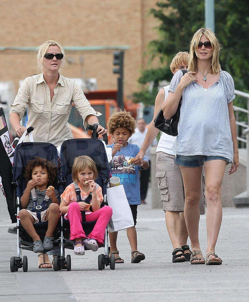 Photos of Heidi Klum and Her Family in NYC