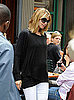 Photos of Pregnant Heidi Klum Out in NYC