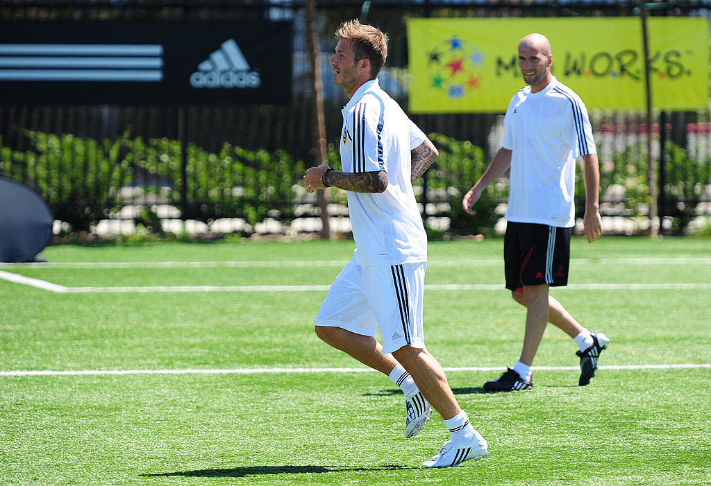 Photos of David Beckham Playing Soccer
