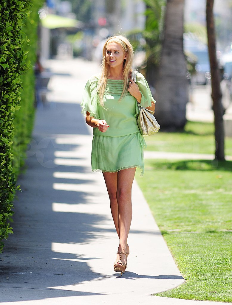 Photos of Heidi Montag and Stephanie Pratt in LA