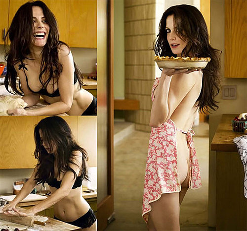 NSFW Photos and Video of Mary Louise Parker in Lingerie Baking Pie and Reading Bedtime Stories