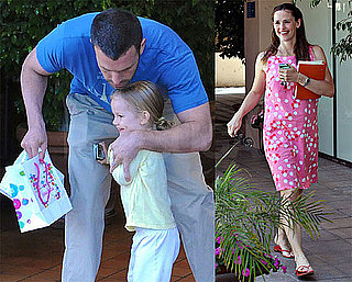 Photos of Ben Affleck Hugging Violet Affleck in LA