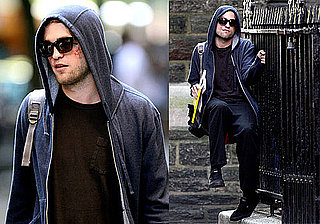 Photos of Robert Pattinson Filming Remember Me in NYC 2009-07-07 08:00:17