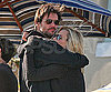 Photo Slide of Jim Carrey and Jenny McCarthy at a Barbecue on the Fourth of July