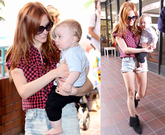 Photos of Ashlee Simpson and Bronx
