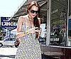 Photo of Lindsay Lohan Running Errands in LA