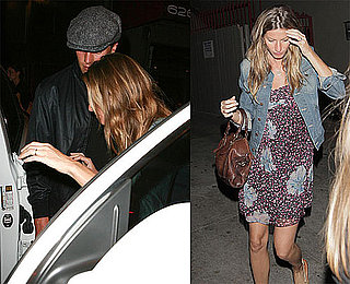 Photos of Pregnant Gisele Bundchen and Tom Brady in LA