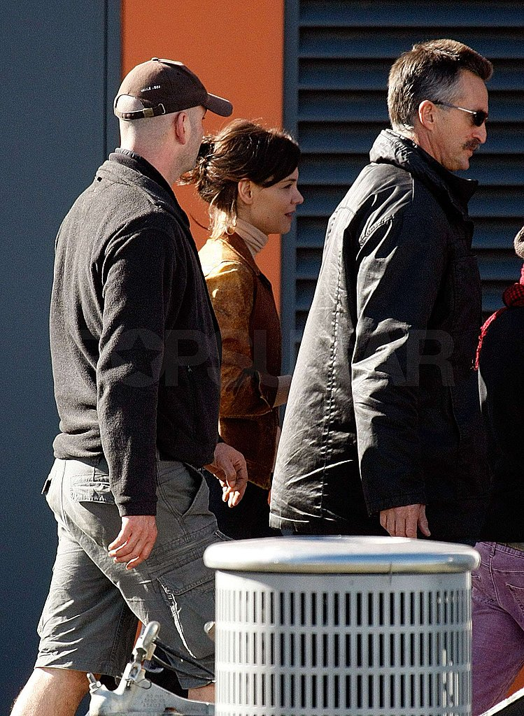 Photos of Katie Holmes on Set in Australia