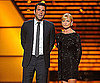 Photo Slide of Zachary Quinto and Jaime Pressly at the ESPY Awards