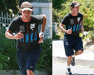 Photos of Shia LaBeouf Jogging in LA