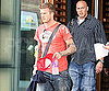 Photo Slide of David Beckham Leaving His New Jersey Hotel