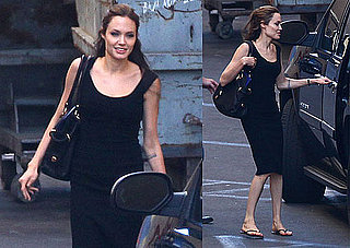 Photos of Angelina Jolie in LA