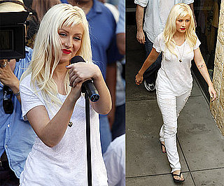 Photos of Christina Aguilera in LA