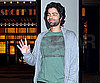 Photo Slide of Adrian Grenier Leaving It's on With Alexa Chung