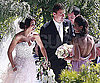 Photo slide of Emmanuelle Chriqui at Channing Tatum and Jenna Dewan's Wedding