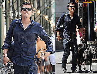 Photos of Orlando Bloom in NYC Just Before His LA Home Robbed of $500,000 Worth of Jewelry
