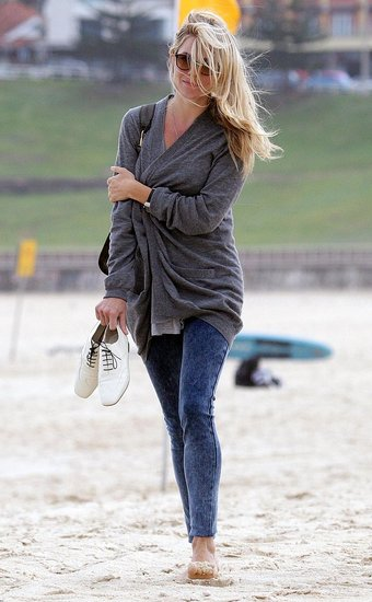 Photos of Sienna Miller on the Beach