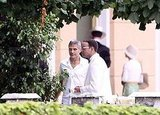 Photos of George Clooney and Robert De Niro in Italy