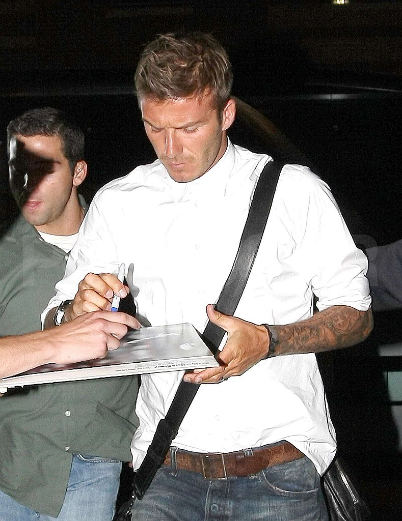 Photos of David Beckham in NYC